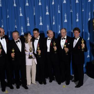 Jodie Foster, Anthony Hopkins, Jonathan Demme, Ronald M. Bozman, Edward Saxon, Ted Tally, Kenneth Utt