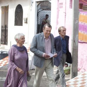 Still of Judi Dench Bill Nighy and Tom Wilkinson in Geriausias egzotiskas Marigold viesbutis 2011