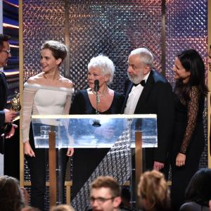 Robert Downey Jr., Julia Louis-Dreyfus, Judi Dench, Mike Leigh, Mark Ruffalo, Emma Watson