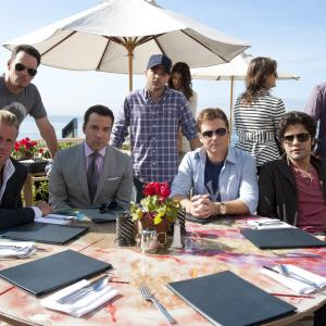 Still of Kevin Dillon Scott Caan Adrian Grenier Jeremy Piven Kevin Connolly and Jerry Ferrara in Entourage 2004