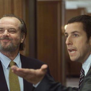 Still of Jack Nicholson and Adam Sandler in Anger Management 2003