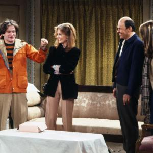 Robin Williams, Pam Dawber, Shelley Fabares, Conrad Janis