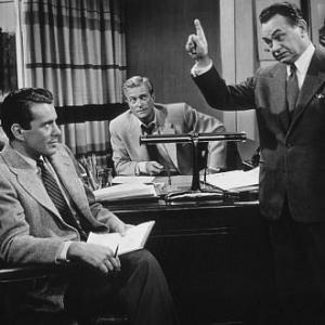 Glass Web The John forsythe Edward G Robinson and Richard Denning 1953 Universal