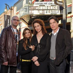 Andie MacDowell Laura San Giacomo Peter Gallagher and Steven Soderbergh
