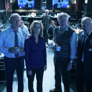 Still of Jim Broadbent, Victor Garber, Felicity Huffman and Ted Levine in Big Game (2014)