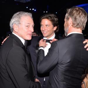Victor Garber, Rainer Andersson and Bradley Cooper