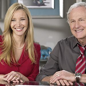 Still of Victor Garber and Lisa Kudrow in Web Therapy (2011)