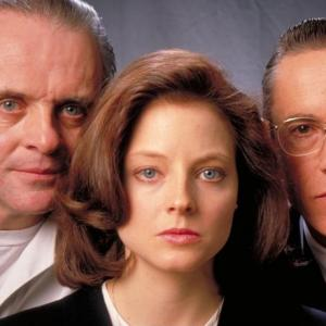 Jodie Foster, Anthony Hopkins, Scott Glenn
