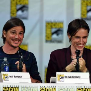 Josh Hartnett and Reeve Carney at event of Penny Dreadful 2014