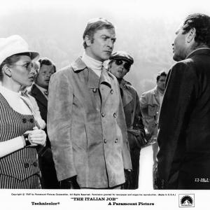 Michael Caine, Benny Hill, Margaret Blye, Michael Standing