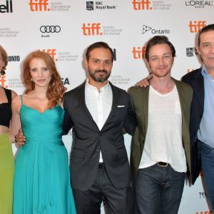 Ciarán Hinds, Ned Benson, James McAvoy, Jess Weixler, Jessica Chastain