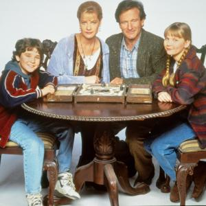Robin Williams, Kirsten Dunst, Bonnie Hunt, Bradley Pierce