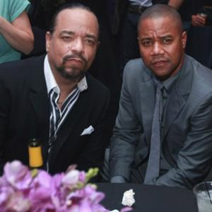Cuba Gooding Jr and IceT at event of American Gangster 2007