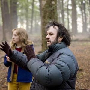 Still of Peter Jackson and Saoirse Ronan in The Lovely Bones 2009