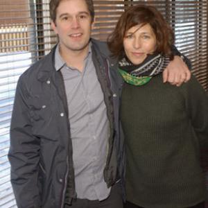 Catherine Keener and Christopher Dillon Quinn at event of God Grew Tired of Us The Story of Lost Boys of Sudan 2006