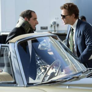 Still of Greg Kinnear and Peter Jacobson in Rake (2014)