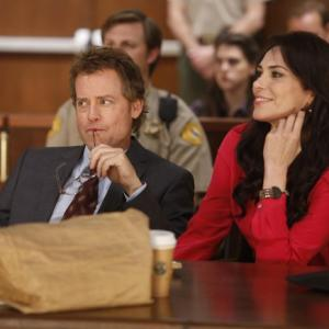 Still of Michelle Forbes and Greg Kinnear in Rake (2014)