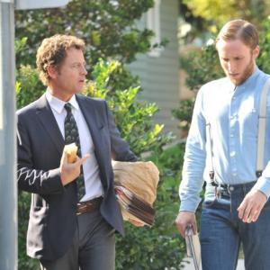 Still of Greg Kinnear and Josh Close in Rake (2014)