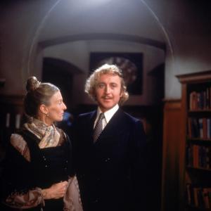 Still of Gene Wilder and Cloris Leachman in Young Frankenstein (1974)