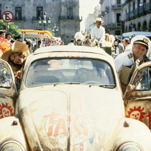 Still of Cloris Leachman and Harvey Korman in Herbie Goes Bananas (1980)