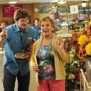 Still of Cloris Leachman and Jimmy Lucas in Mazyle Houp (2010)