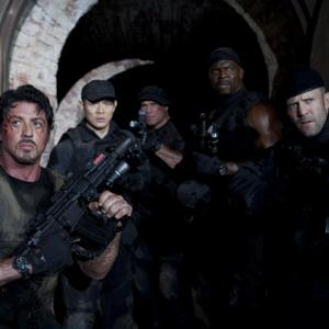 Sylvester Stallone, Jet Li, Jason Statham, Terry Crews, Randy Couture
