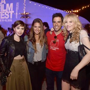 Courtney Love, Eli Roth, Lily Collins, Lorenza Izzo
