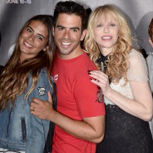 Courtney Love, Eli Roth, Lorenza Izzo