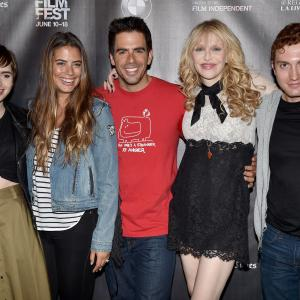 Courtney Love, Eli Roth, Daryl Sabara, Lily Collins, Lorenza Izzo