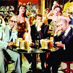 Still of Dean Martin, Frank Gorshin, Judy Holliday and Bernard West in Bells Are Ringing (1960)
