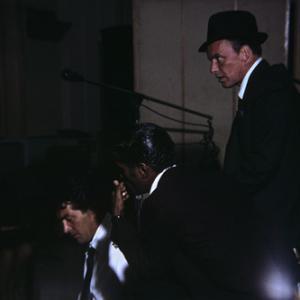 Dean Martin, Sammy Davis Jr. and Frank Sinatra