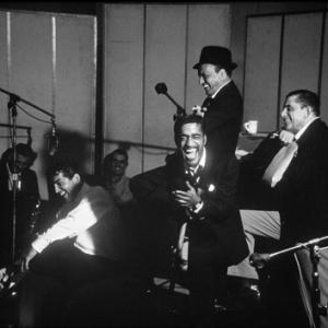 Dean Martin, Frank Sinatra and Sammy Davis Jr.