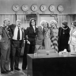 Edward Asner, Cloris Leachman, Mary Tyler Moore, Ted Knight