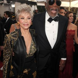 Morgan Freeman, Rita Moreno