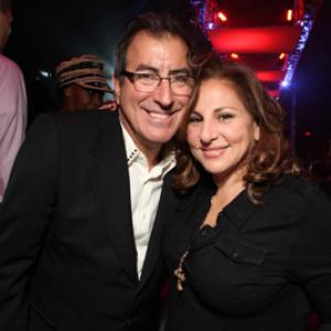 Kathy Najimy and Kenny Ortega at event of This Is It (2009)