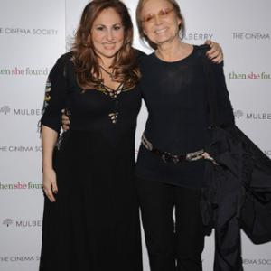 Kathy Najimy and Gloria Steinem at event of Then She Found Me (2007)