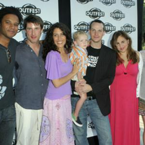 Melanie Lynskey, Kathy Najimy, Lisa Edelstein, Peter Paige, Marc Anthony Samuel and Christopher Racster at event of Say Uncle (2005)