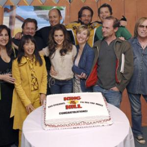 Kathy Najimy, Brittany Murphy, Ashley Gardner, Johnny Hardwick, David Herman, Toby Huss, Mike Judge, Tom Petty, Stephen Root and Lauren Tom at event of King of the Hill (1997)