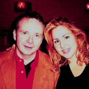 Kathy Najimy and Tom Riis Farrell