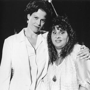 Sigourney Weaver and Kathy Najimy in Jeffrey (1995)