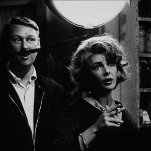 Whos Afraid of Virginia Woolf Elizabeth Taylor with Dir Mike Nichols