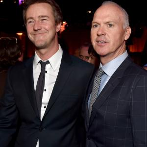 Michael Keaton, Edward Norton