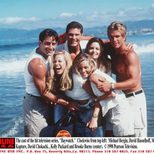 David Hasselhoff, Mitzi Kapture, Kelly Packard, David Chokachi, Brooke Burns, Michael Bergin