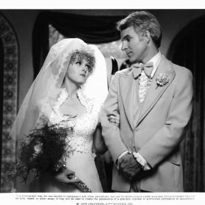 Still of Steve Martin and Bernadette Peters in The Jerk 1979