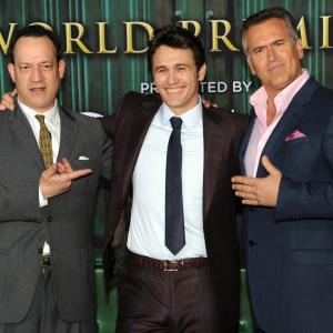 Ted Raimi, Bruce Campbell, James Franco
