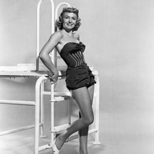 Donna Reed poses for Trouble Along The Way 1953