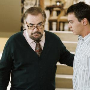 Still of Jonathan Rhys Meyers and Brian Cox in Match Point 2005