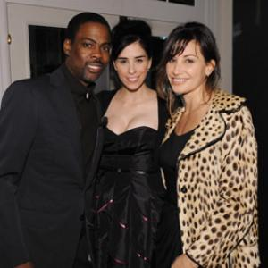 Gina Gershon Chris Rock and Sarah Silverman