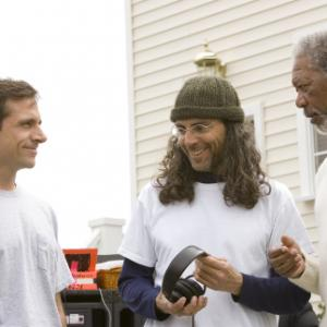 Morgan Freeman, Tom Shadyac, Steve Carell