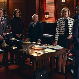 Julianna Margulies, Josh Charles, Wallace Shawn, Christine Baranski, Matt Czuchry, Mike Colter